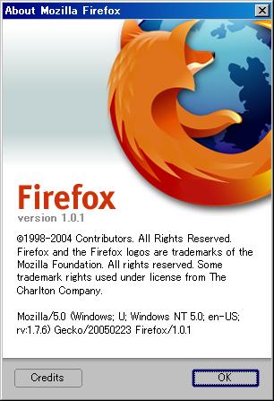 Firefox 1.0.1