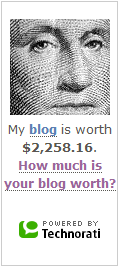 Your blog, smallstyle.com, is worth $2,258.16