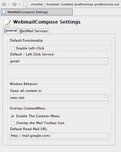オプション画面を tab 上で表示