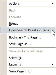 GoogleTabs スクリーンショット