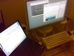 RDT201WV と ThinkPad X60