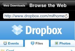 GoodReader - Browse Dropbox